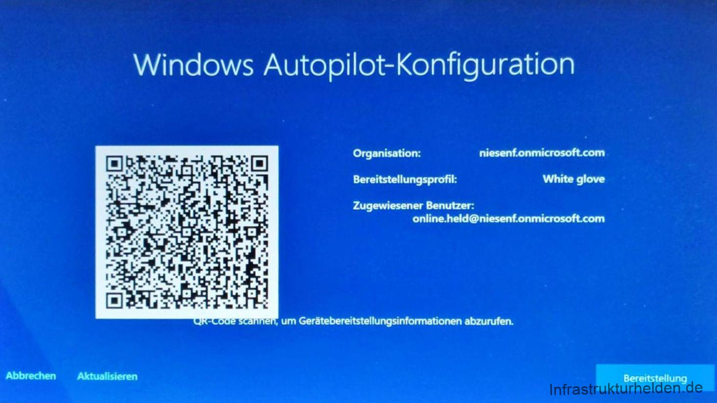Neues bei Autopilot mit Windows 10 1903 (Updated)